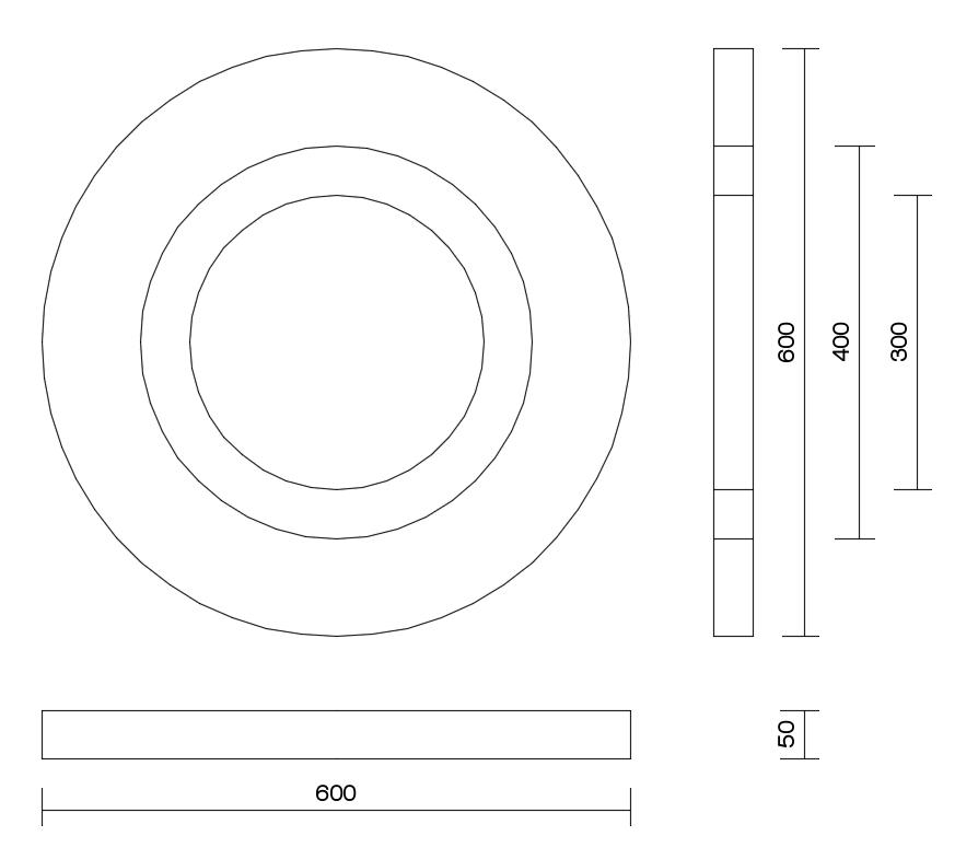 Design tecnico pannelli Cirkel