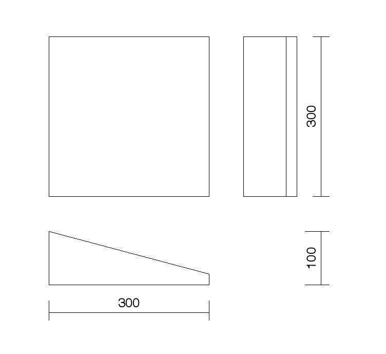 dessin technique panneau Kilen