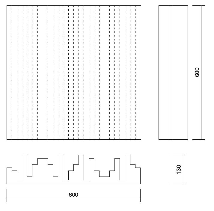 Technical Drawing Kontur diffuser