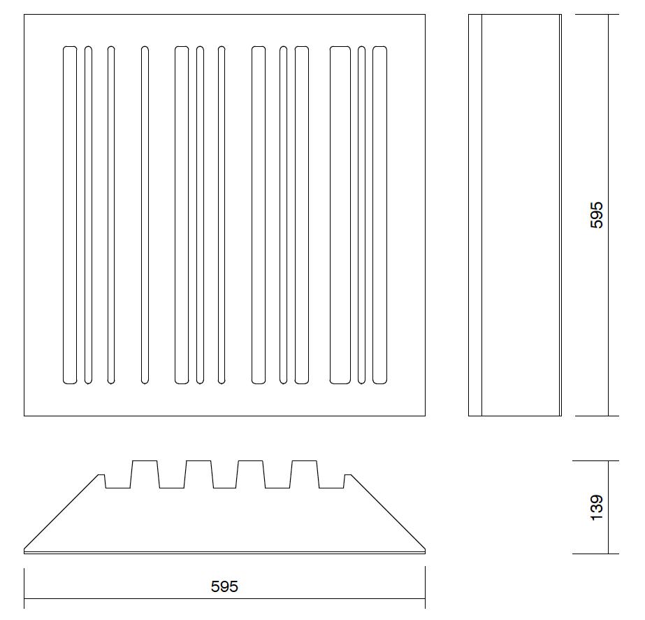 dessin technique basstrap Streckkod BT