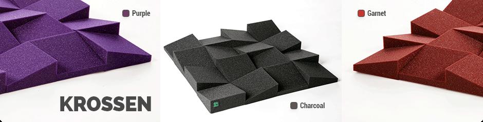 Krossen - Sound absorber tile