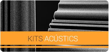 Kits Acústics per home studios
