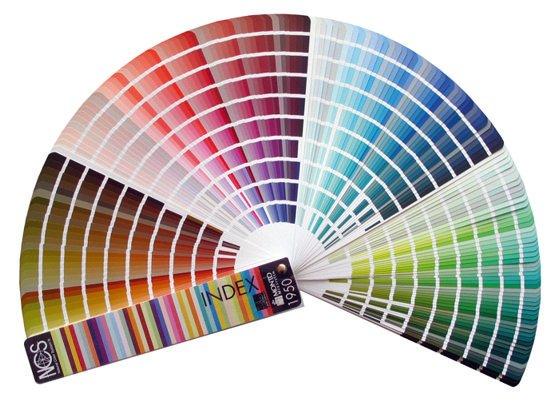 panneau acoustique Slät - gamme de couleurs NCS