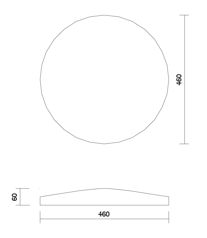 dibujo técnico panel Kex