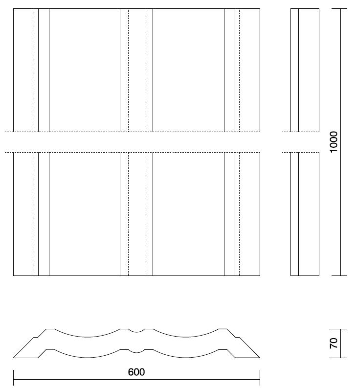 Technical Drawing panel Kotka