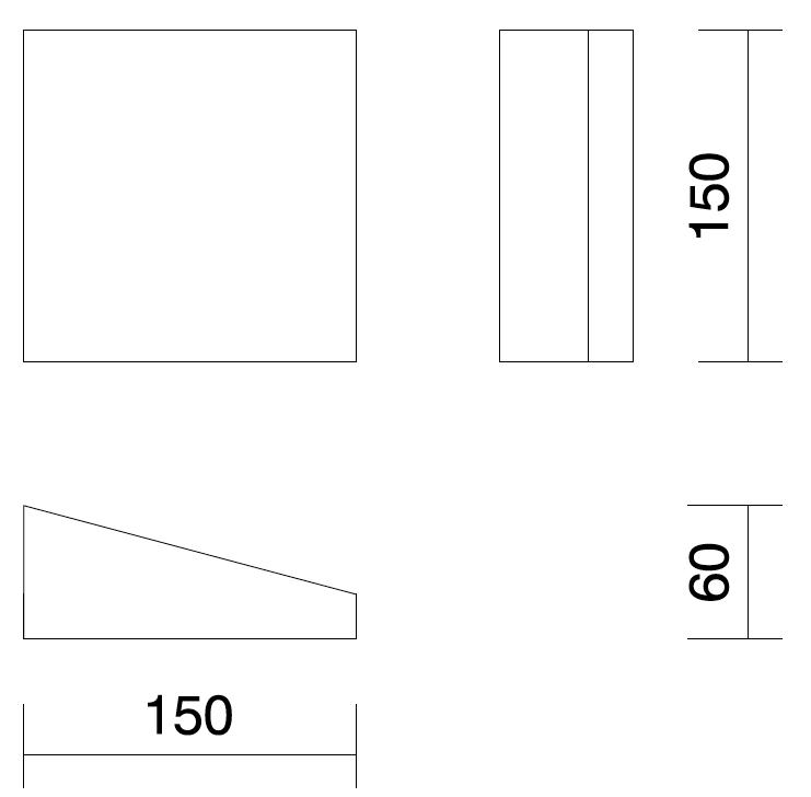 Desenho técnico painel krossen