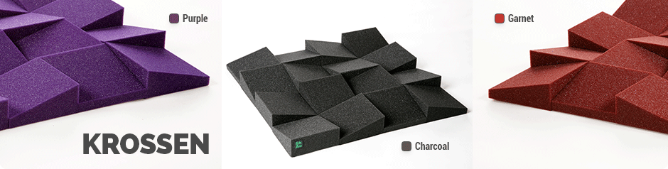 Krossen - Sound absorber tile