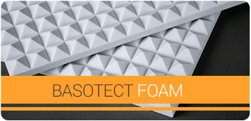 Basotect Foam panels