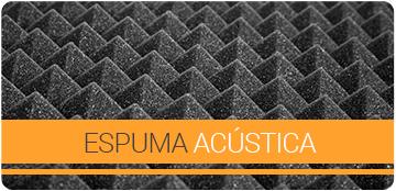 Painéis de espuma acústica para tratamentos acústicos